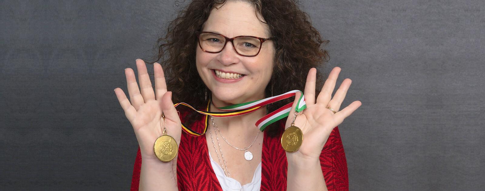 Intersteno World Champion Gold Medalist
